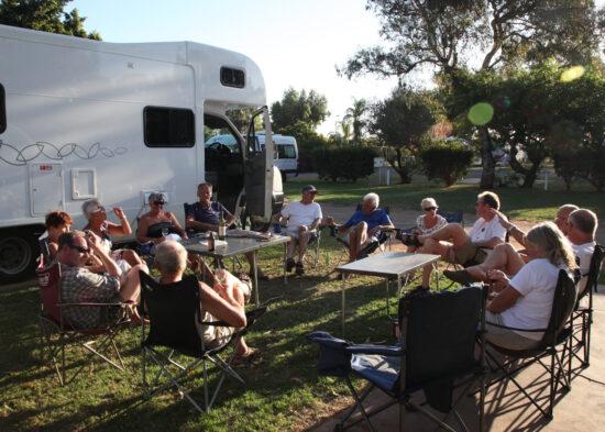 Happy Hour op de camping