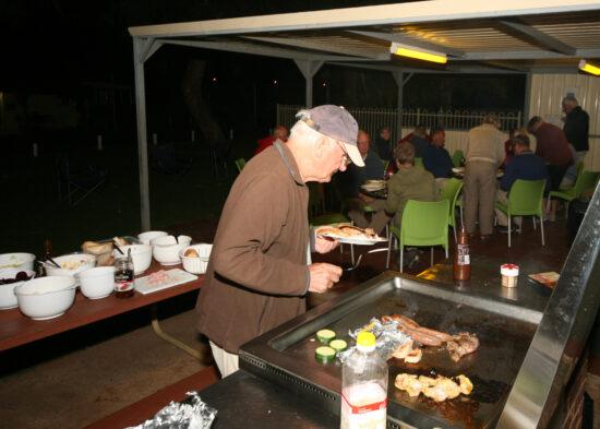BBQ op de camping
