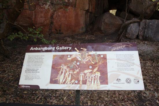 Duizenden jaren oude rotsschilderingen in Ubirr.