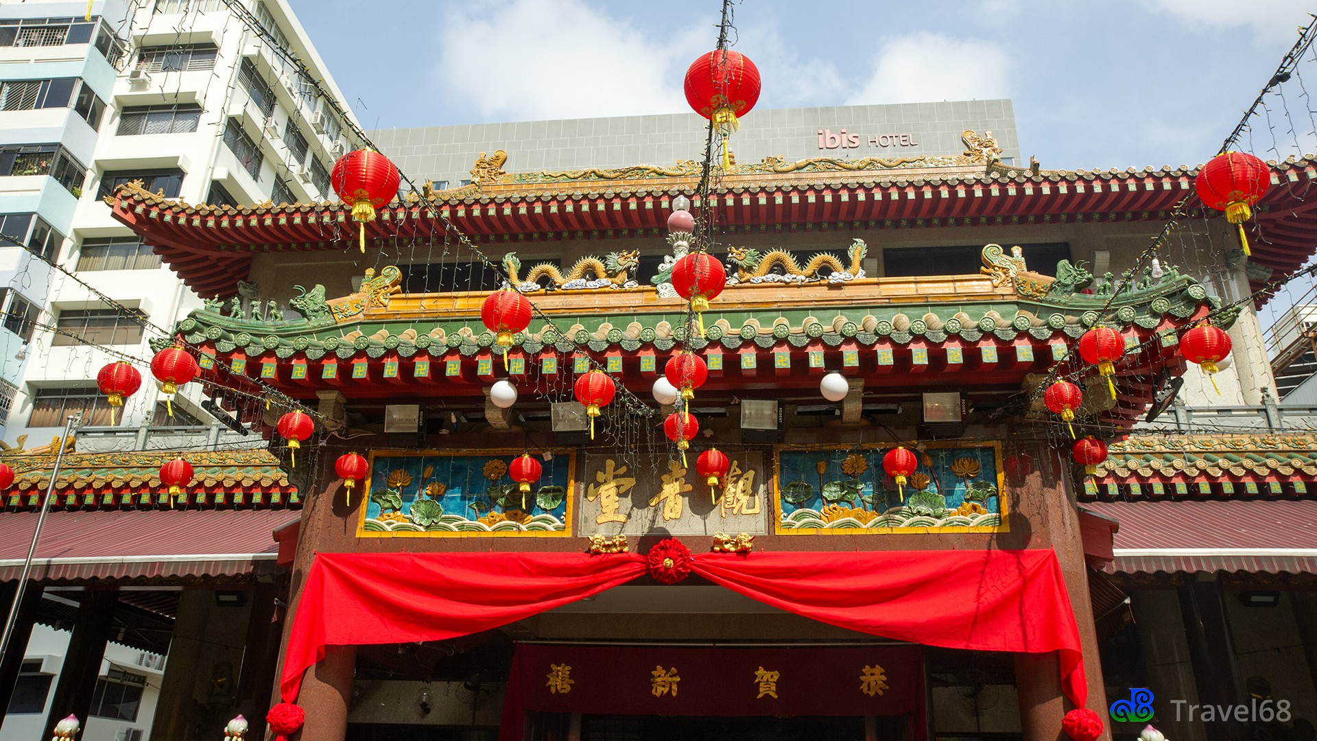 Boeddhistische Goddess Of Mercy temple (Kuan Im Thong Hood Cho )