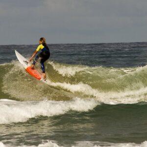 Surfers in actie