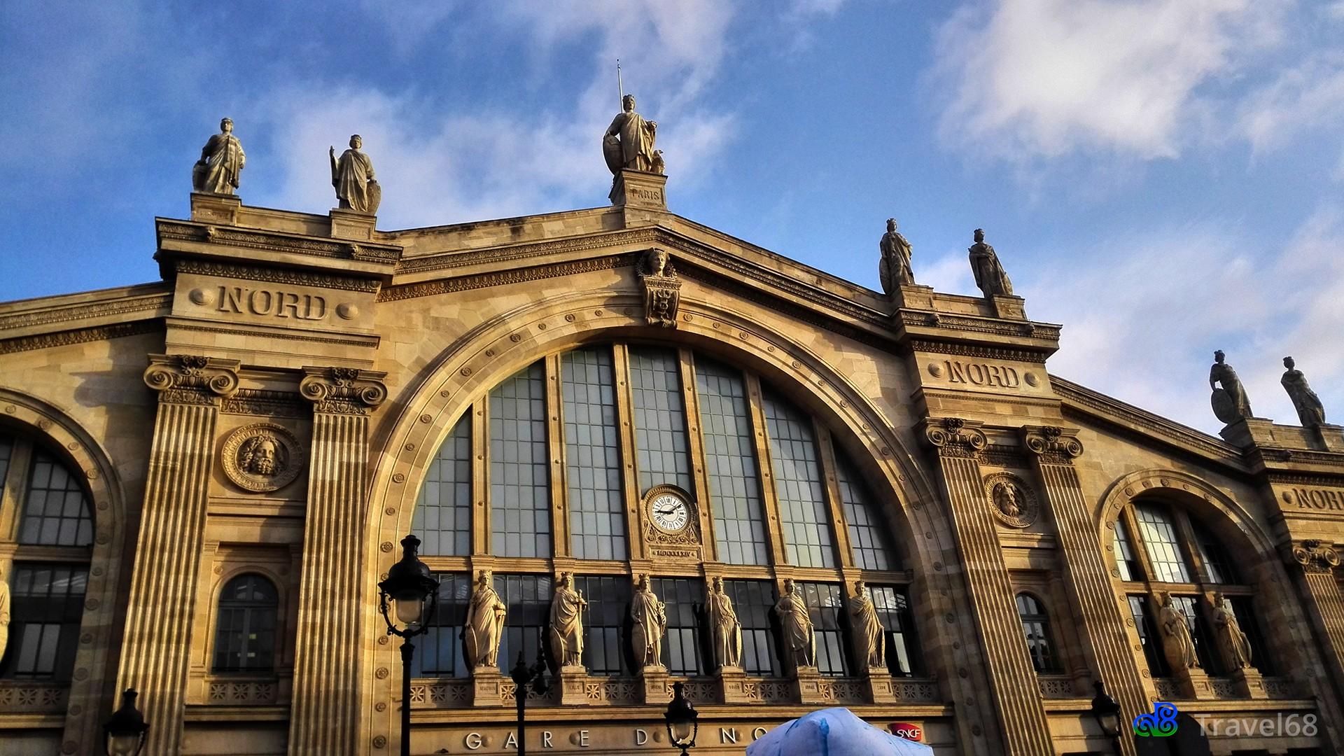 Het treinstation Gare du Nord