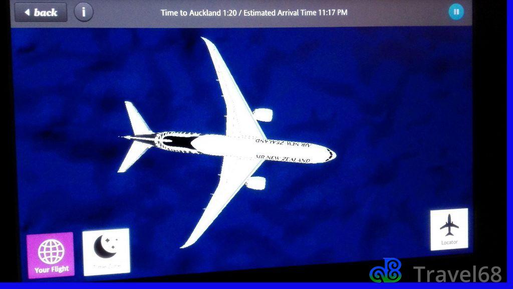 Het vliegtuig van Air New Zealand