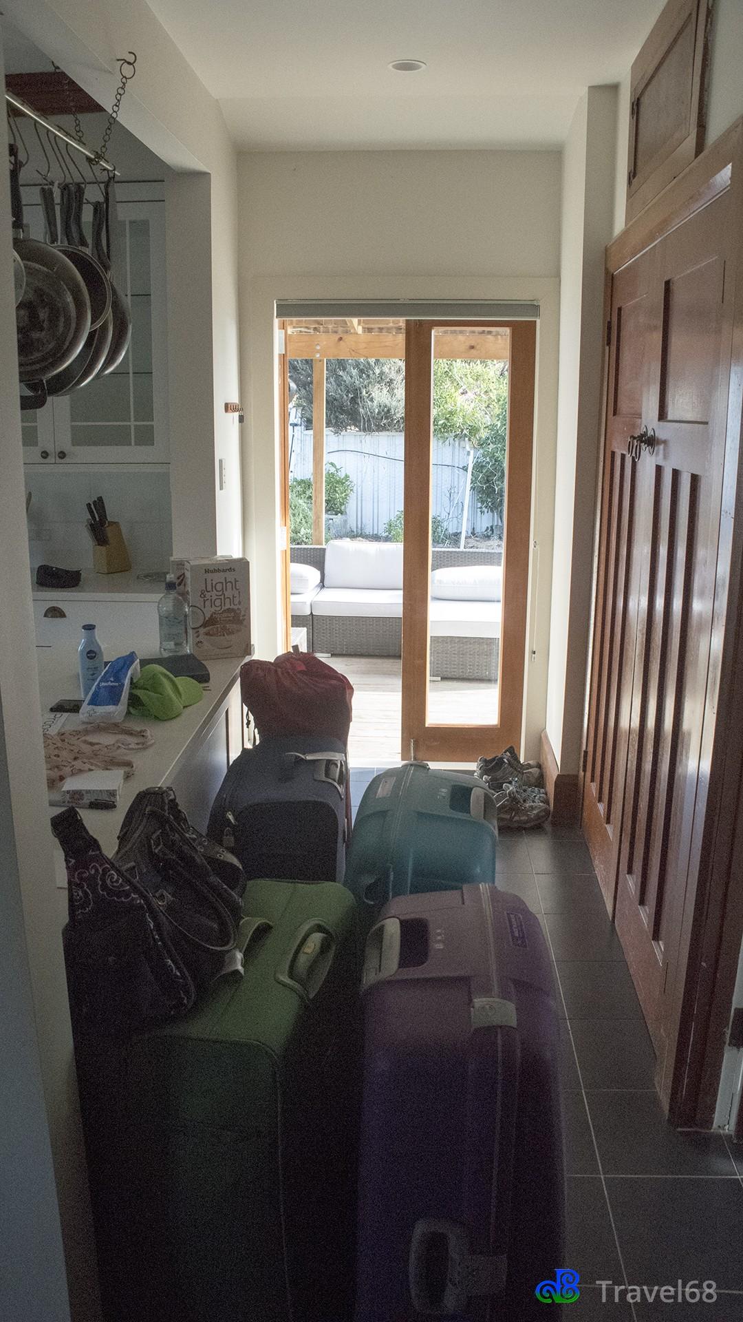 Onze koffers kunnen eindelijk uit gepakt worden