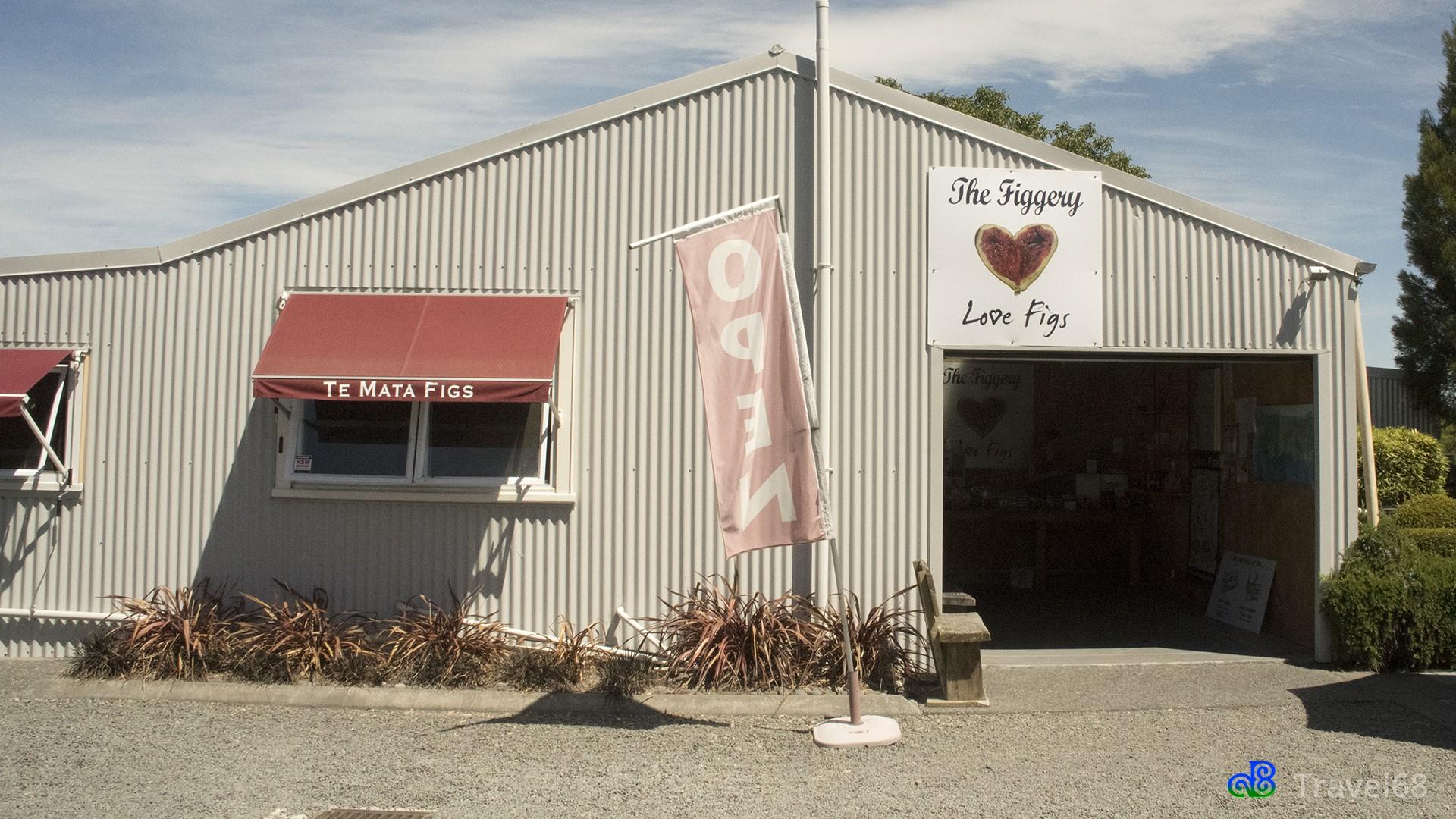 De winkel van Te Mata Figs