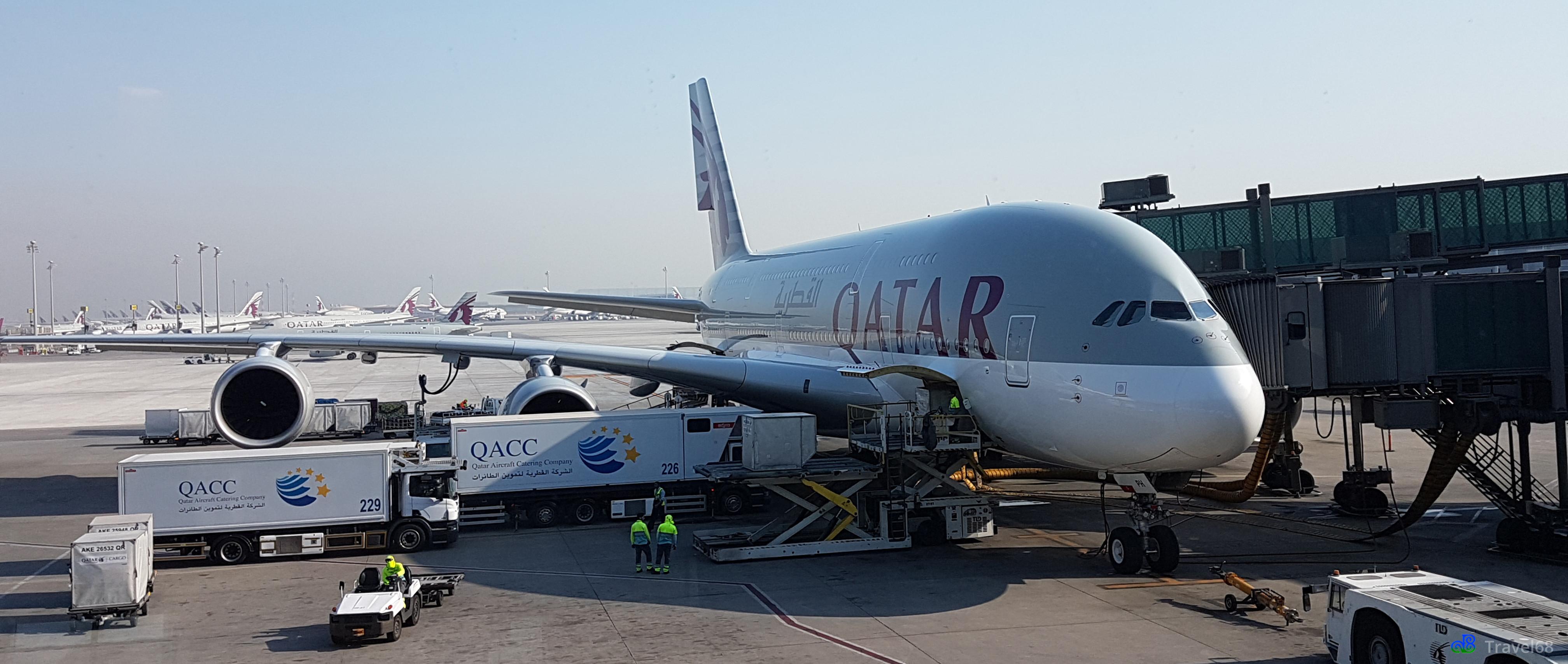 Het vliegtuig waar we naar Amsterdam gaan