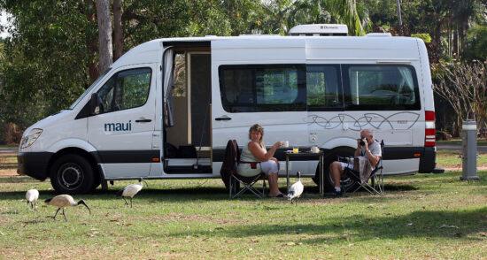 Camping in Hot Springs