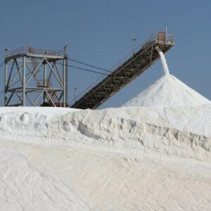 Port Hedland: zoutopslag