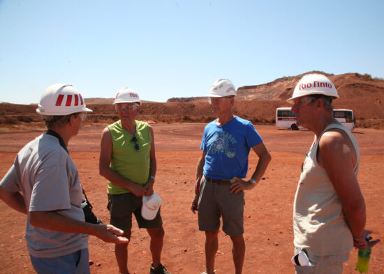 Rio Tinto mijn: miners from Wereldcontact call for duty