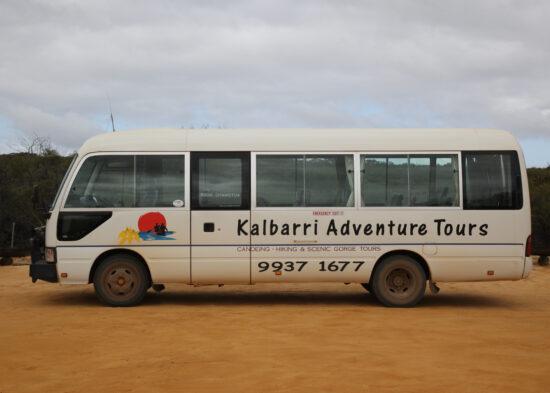 Onze prive 4WD busje