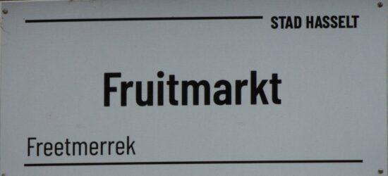Fruitmarkt in de Vlaams