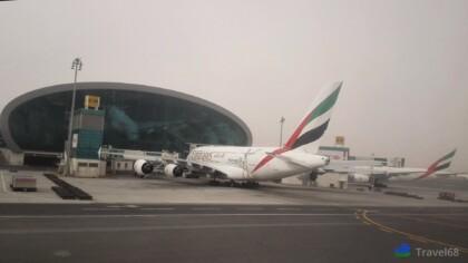 Vliegtuig van de Emirates